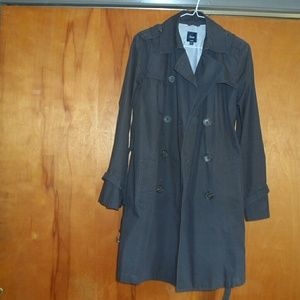 Gap Belted Trench Style Lightweight Jacket